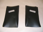 1978 - 1981 Camaro and Trans Am T-Top Upper Seat Belt Covers NEW