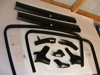 1978 - 1981 Camaro Trans Am Fisher T-Top Interior Trim Set NEW COMPLETE 10 Piece