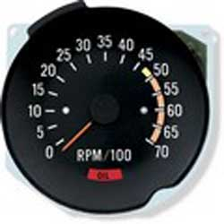 1970 - 1980 Camaro Tachometer NEW (2 Red Lines to choose from)