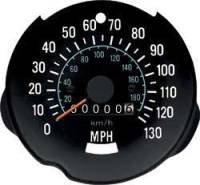 1970 - 1978 130 mph Speeodometer NEW Reproduction Unit