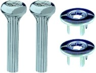 1968 - 1981 Camaro Firebird Door Lock Stems & RIng Set for Door Panels NEW Various Colors Available
