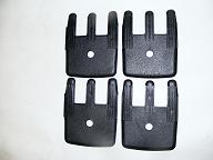 Camaro Trans Am Seat Track Trim Covers 4 pc Set