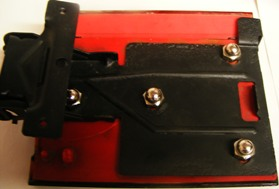 We rebuild the fuel door hinge and add NEW mounting hardware