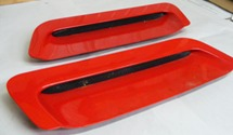 1993 - 1997 Camaro Hood Scoops Factory GM Units PAIR