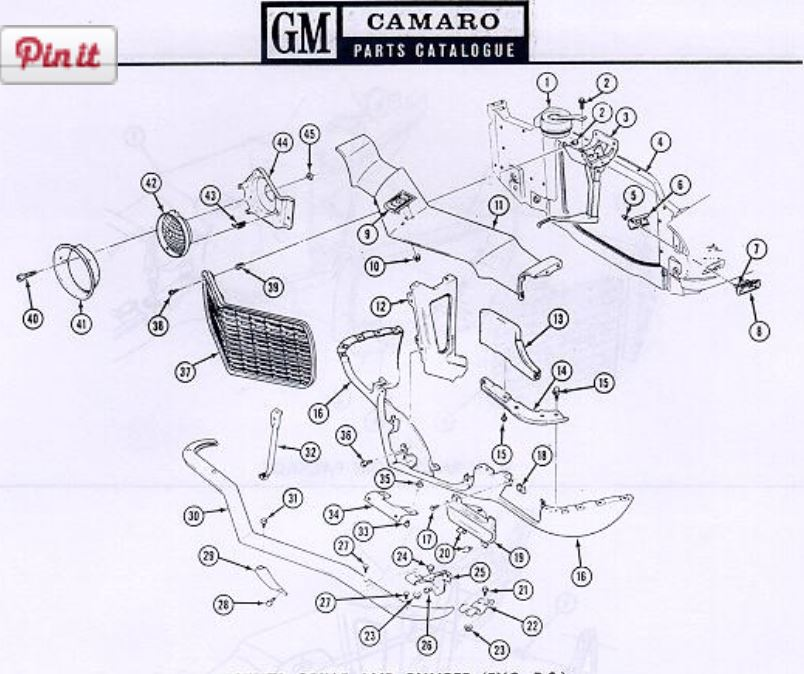 564 on 1969 camaro headlight wiring diagram