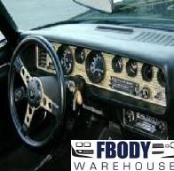 T Top Camaro >> 1974 - 1978 Trans Am Firebird Dash Bezels & Related Parts