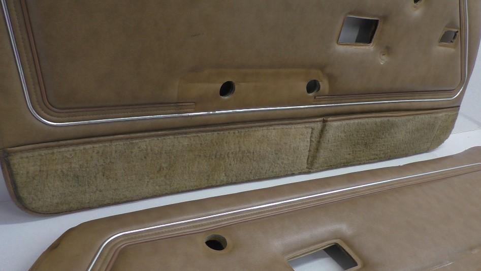 1978 1981 Gm Trans Am Firebird Deluxe Camel Tan Door Panels Pair A