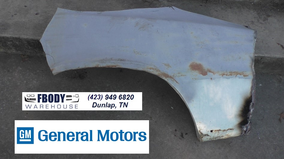 1978 - 1981 Camaro D Side Rear Quarter Panel Wheel Lip +