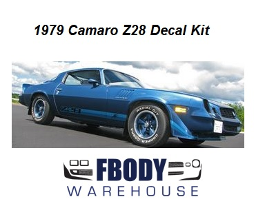 1979 camaro z28 full decal kit all factory colors available for 1979 camaro z28 interior parts