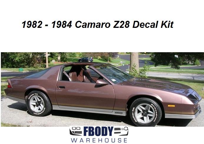 1982 1984 Camaro Z28 Decal Kit 9 Available Color Binationsrhfbodywarehouse: Wiring Diagrams 1984 Camaro Colors At Gmaili.net