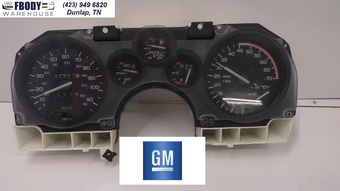1986 1990 Camaro Gauge Cluster Full Gauges Complete Gm 1978 Wiring Diagram Rpm Tach