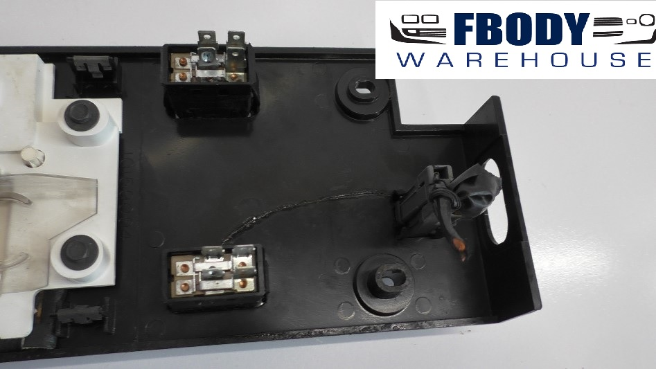 Firebird Trans Am Autmatic Shifter Bezel For Center Console Gm Fbodywarehouse on 1991 Camaro Trunk