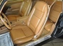 1978 1981 Trans Am Deluxe Seat Cover Upholstery Vinyl