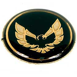 1970 - 1981 Trans Am SE Gold Bird Shifter Button Inlay NEW