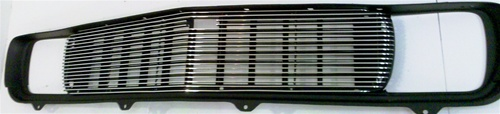 Billet grill for use WITHOUT OE Center Molding
