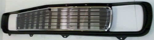 Billet grill for use WITH OE Center Molding.