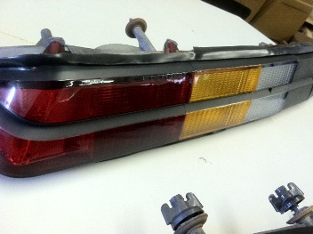 1978 - 1981 Camaro Tail Light Restoration Service! New Parts FULLY INSTALLED For You!