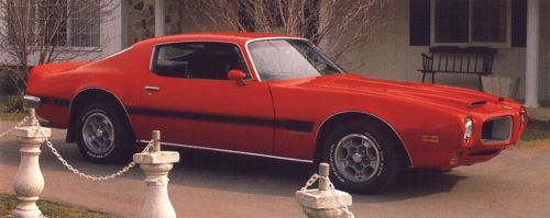 1970 - 1972 Firebird Formula Exterior Stripe Kit