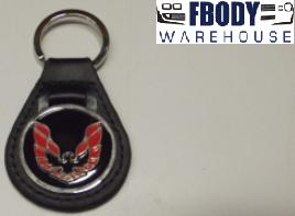 RED Firebird Trans Am Keychain