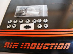 Z28 Air Induction Scoop Mounting Kit 100% Complete!