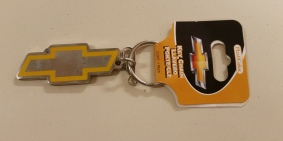 Chevrolet Gold Metal Bow Tie Key Chain!