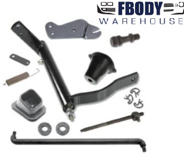 1967 - 1969 Camaro  Clutch Linkage Kit for BIG BLOCK Cars