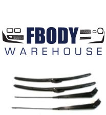 1967 - 1969 Camaro Firebird Windshield Wiper Arms & Blades Full Kit for Hard Top