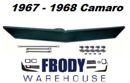 1967 - 1968 Camaro Front Spoiler with Mounting Hardware NEW