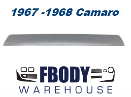 1967 - 1968 Camaro Rear Deck Lid Spoiler NEW
