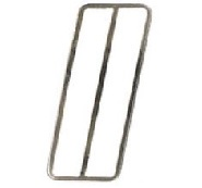 1969 - 1981 Camaro Trans Am Gas Pedal Pad Stainless Accent Trim