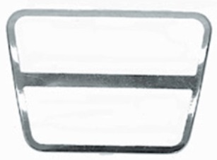 1969 - 1981 Camaro Trans Am Brake Pedal Pad Stainless Accent Trim Manual Transmssion,