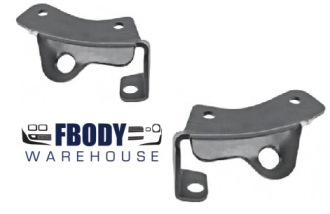 1967 Camaro Front Bumper Brackets Outer New Pair