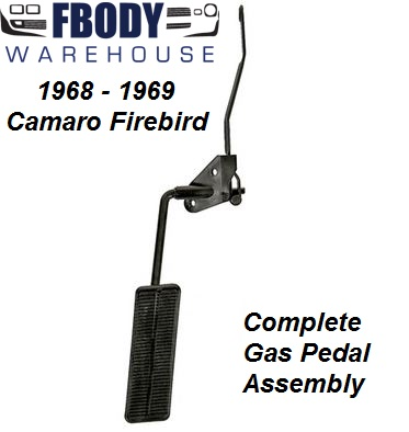 1968 1969 Camaro Firebird Complete Gas Pedal Kit