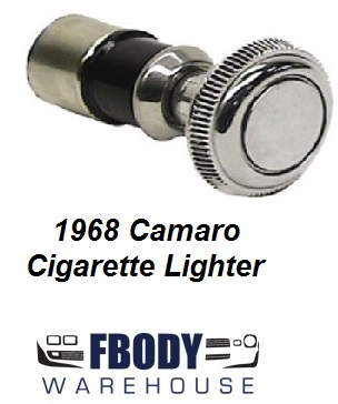 1967 - 1968 Camaro Cigarette Lighter Rochester Complete Unit