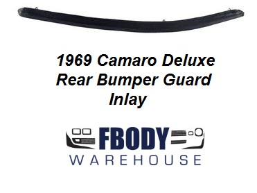 1969 Camaro Deluxe  Rear Bumper Guard Rubber Insert