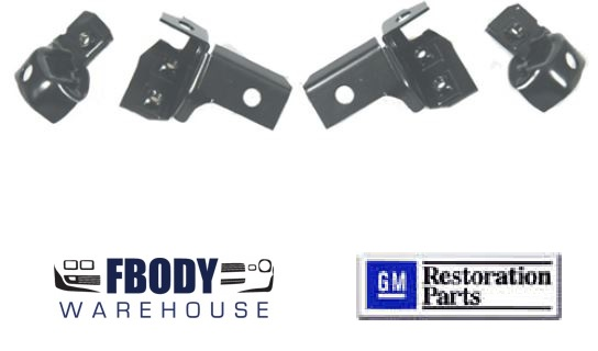 1969 Camaro Rear Bumper Mounting Brackets 4 Pc KIT