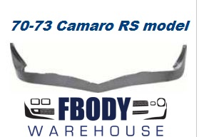 1970 - 1973 Camaro Rally Sport Lower Front Spoiler