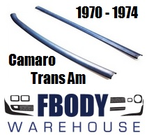 1970 - 1974 Camaro Trans Am Upper Side Headliner Trim NEW RELEASE! Pair L/R