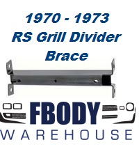 1970 - 1973 Camaro Rally Sport Grill Divider Bracket NEW