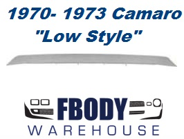 1970 - 1973 Camaro Z28 Rear Spoiler (Low Style) New * Fits All 70 - 81 also*