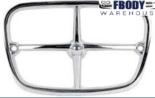 1970 - 1973 Trans Am Firebird Park Lamp Bezel Chrome NEW