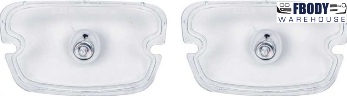 1970 - 1972 Trans Am Firebird Park Lamp Lenses NEW Pair