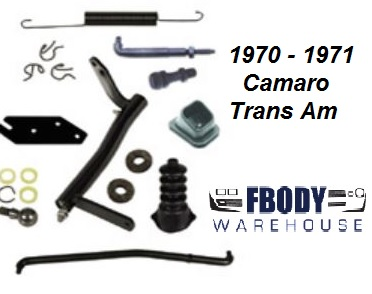 1970 - 1971 Camaro Trans Am Clutch Linkage Kit NEW