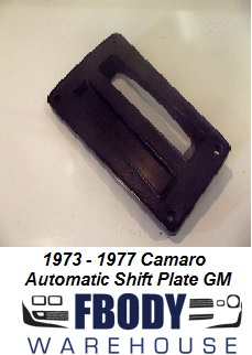 1973 - 1977 Camaro Automatic Shifter Bezel USED GM