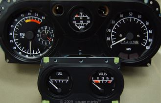 1970 1971 1972 1973 Trans Am Dash Gauges amp Related Parts