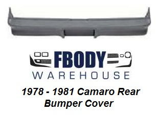1978 - 1981 Camaro Rear Bumper Cover Urethane NEW