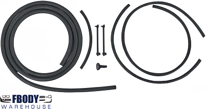 1967 - 1969 Camaro Trans Am Windshield Washer Hose Replacement Kit NEW!