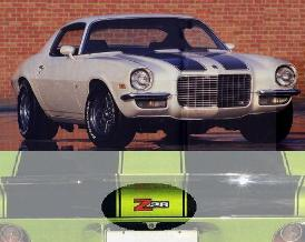 1970 - 1973 Camaro Body Decal / Stencil Kit Various Models!