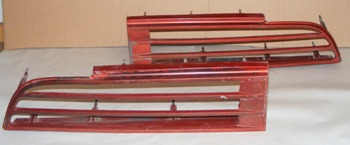 1974 - 1978 Trans Am Tail Light Grills Used GM
