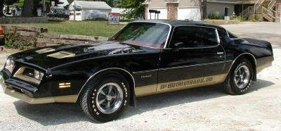 1976 - 1978 Firebird Formula Decal Kit For Two Tone Cars